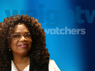 Oprah loses 26lbs., Weight Watchers stock gains