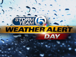 Weather Alert Day starting at 4 p.m.