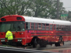 Bus, truck collide in Belle Glade