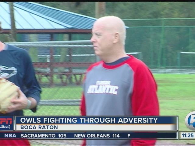 FAU baseball battles through illness