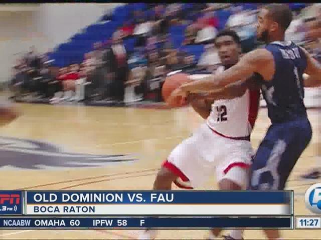 FAU falls to Old Dominion