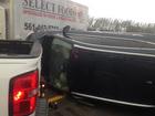Driver recalls being caught in tornado
