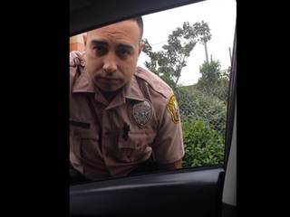 Miami driver pulls over officer for speeding