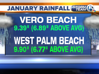 Wettest January since 1932 in South Florida