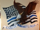 Boynton PD unveils new mural at training center