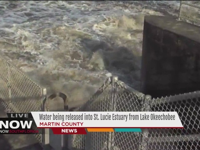 Army Corps increases water flows from Lake Okeechobee