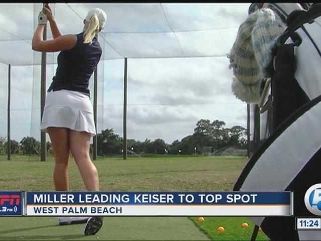 Keiser University golf teams ranked #1