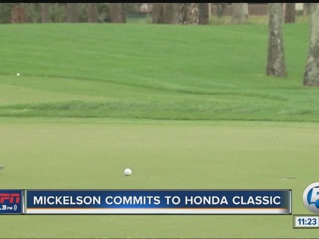 Phil Mickelson to play in Honda Classic