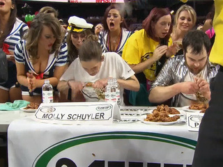 Gluttony is center stage at Philly's Wing Bowl