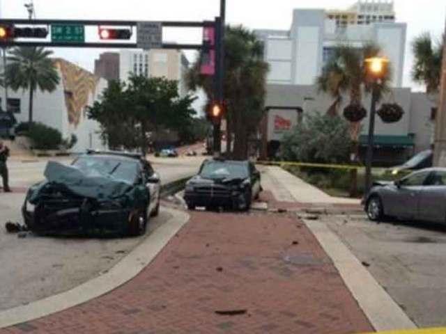 Deputy, prisoner injured in Fort Lauderdale crash