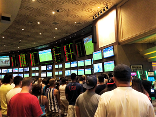 Record $132.5M bet on Super Bowl at sports books