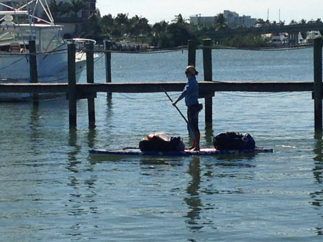 Paddleboarders travel from New York to Key West