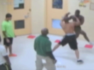 Video: Fight at local juvenile facility