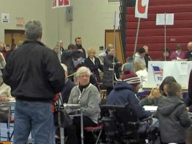 Large voter turnout in New Hampshire