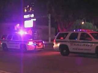 Deputies canvass area near Lake Worth restaurant