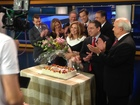 Friends congratulate Kelley Dunn on 30 years