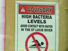 Advisory for North Fork of St. Lucie River