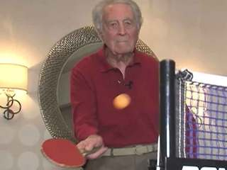 Age just a number for this ping-pong player