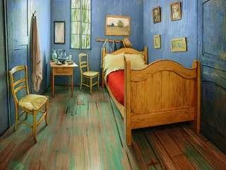 Van Gogh's bedroom recreated as Airbnb rental