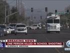 Balacera en escuela superior en Arizona
