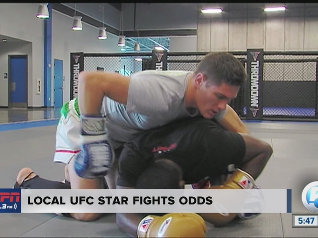 Local UFC Star Fights Odds