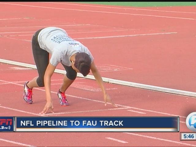 NFL Wide Receiver Pipeline to FAU Women's Track
