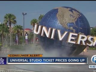 Aumentan costo de boletos en Universal Studio