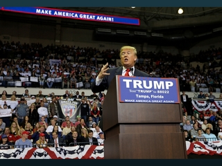 Trump rips former Gov. Jeb Bush at Tampa rally
