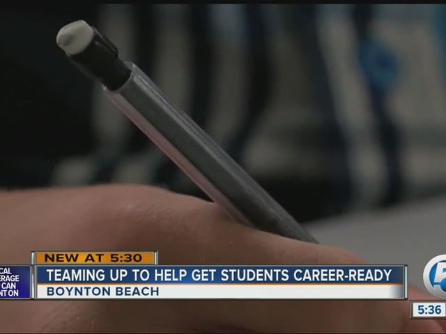 Teaming up to help get students career-ready in Boynton Beach