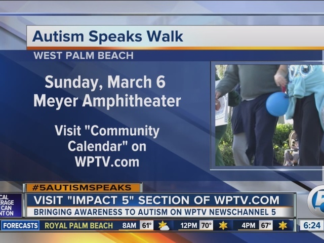Autism Speaks Walk to be held March 6 in West Palm Beach