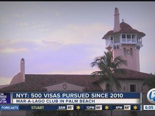 Trump emplea empleados extranjeros en Mar-a-Lago