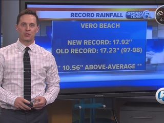 Record rainfall this winter
