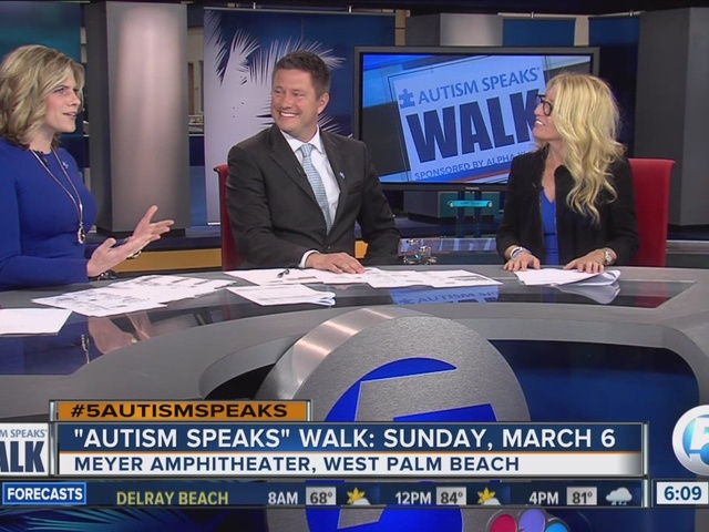 'Autism Speaks' Walk Sunday in West Palm Beach