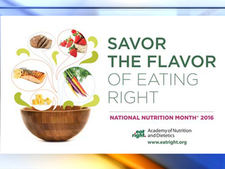 District promotes National Nutrition Month