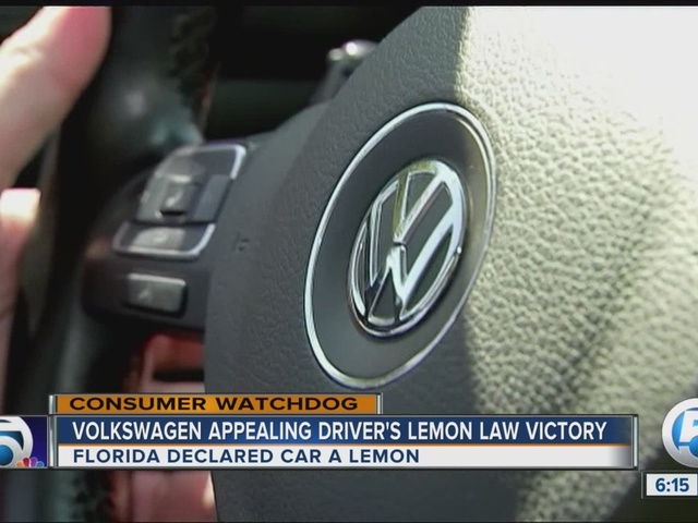 Volkswagen appeals Florida Lemon Law decision, sending diesel car ...