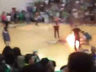 New reports rule pep rally fire an