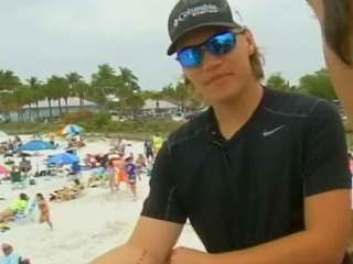 SW Florida teen says he was bitten by shark