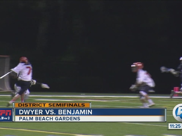 Benjamin defeats Dwyer in District Semifinal