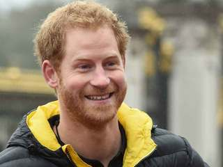 Prince Harry in Wellington for polo match