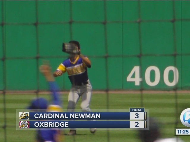 Cardinal Newman and Oxbridge square off at Roger Dean Stadium
