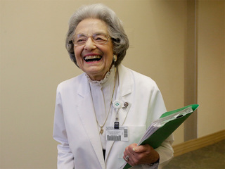 90-year-old has had same job for 70 years