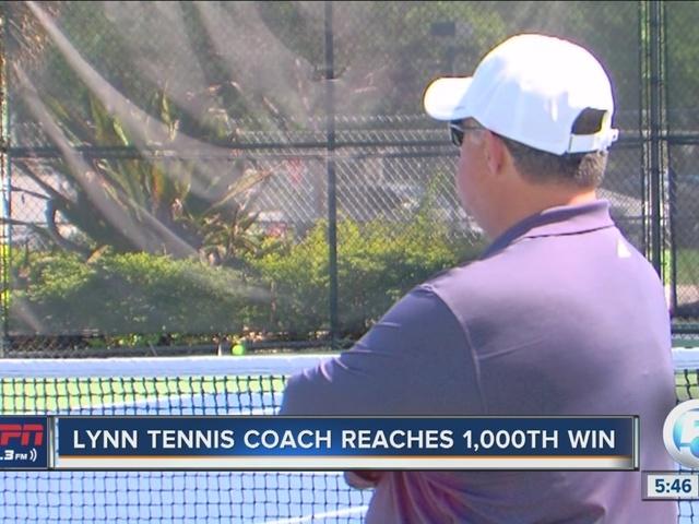 Lynn tennis coach reaches 1,000 wins