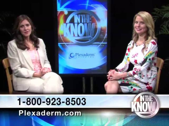 Plexaderm tightens skin, removes wrinkles