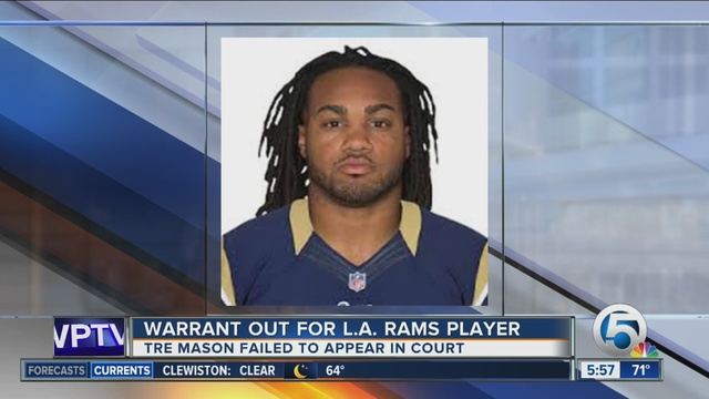 Arrest warrant issued for Rams' Tre Mason, missed court date