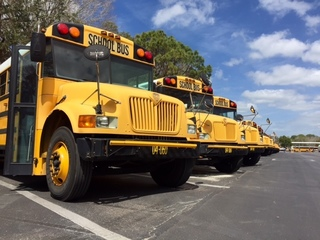 School bus cams fixed, but district has new rule