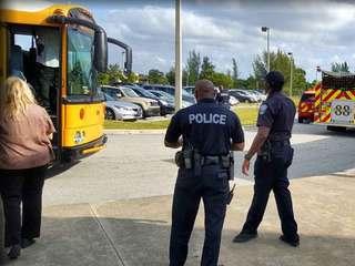 4 children injured in Rivera school bus accident