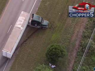 Fatal crash involving 2 semis in Indian River Co