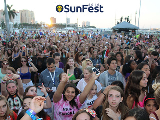 Enter to win SunFest tickets!