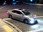 Police search for car involved in hit-and-run