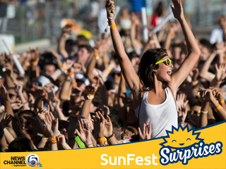 Feeling lucky? We have SunFest Surprises for you